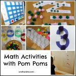 Math Activities with Pom Poms