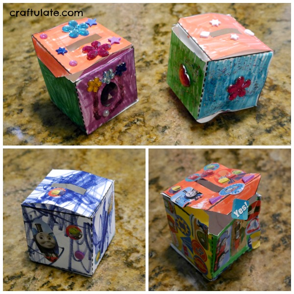 DIY Money Box for Kids