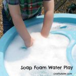 Soap Foam Water Play