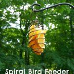 Spiral Bird Feeder