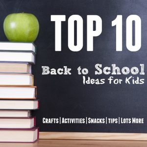 Top 10 Back to School