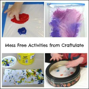 Mess Free Art from Craftulate