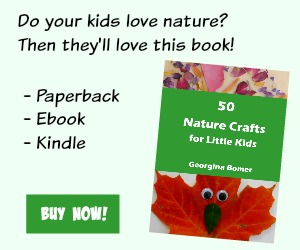 50 Nature Crafts Book from Craftulate