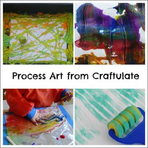 Process Art from Craftulate