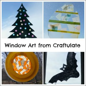 Window Art from Craftulate