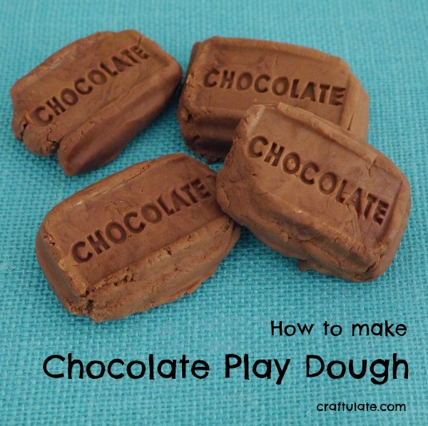 Make your own Chocolate Play Dough!