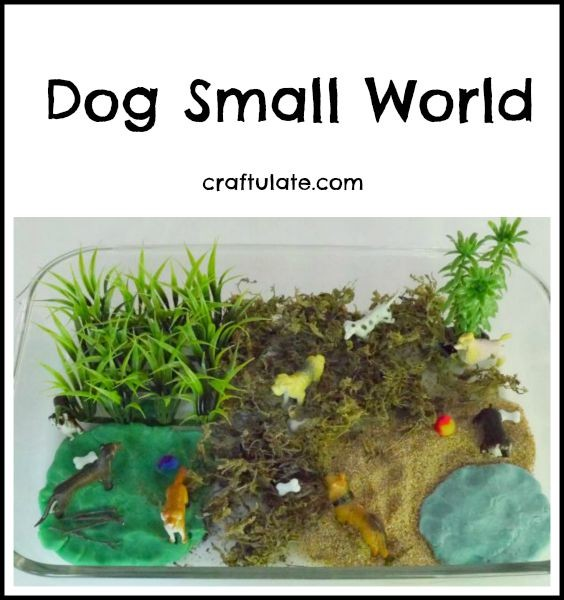 Dog Small World - fun pretend play!