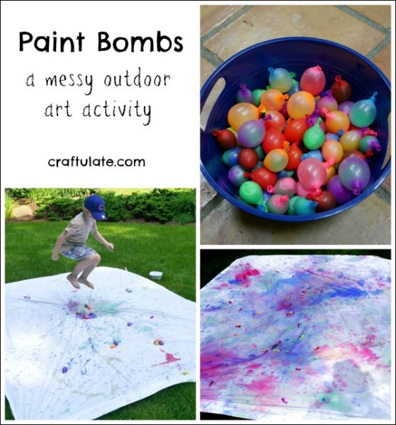 Paint Bombs - Craftulate