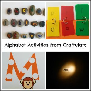 Alphabet Activities from Craftulate