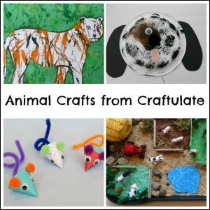 Animals Crafts from Craftulate