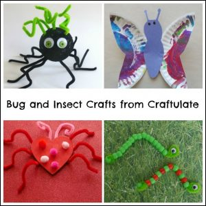Bug and Insect Crafts from Craftulate