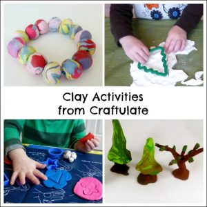 Play Recipes from Craftulate - Clay