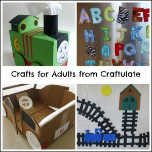 Crafts For Adults from Craftulate