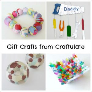 Gifts That Kids Can Make from Craftulate