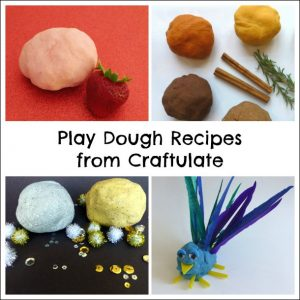Play Recipes from Craftulate - Play Dough