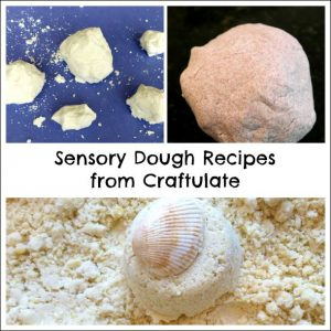 Play Recipes from Craftulate - Sensory Dough