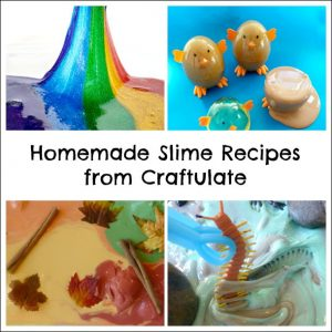 Play Recipes from Craftulate - Homemade Slime