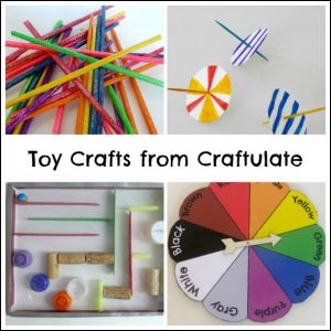 Homemade Toy Crafts from Craftulate