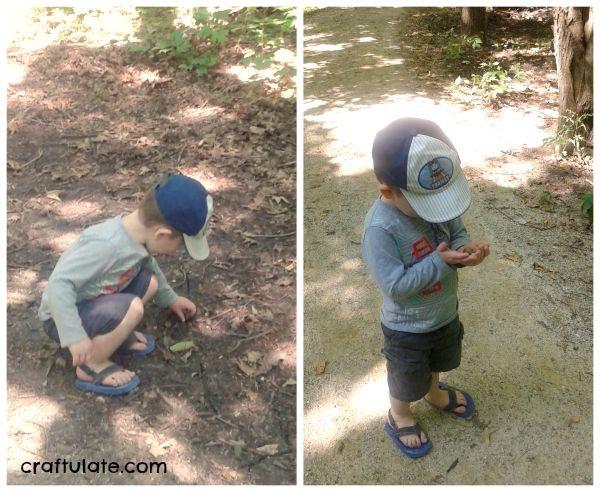 Acorn Wreath for Kids