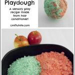 Apple Conditioner Playdough