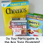 Do You Participate in the Box Tops Program?