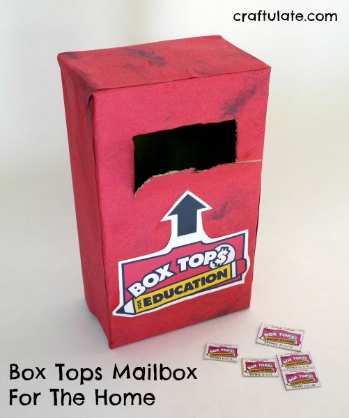 Box Tops Mailbox For The Home #sponsored #ad