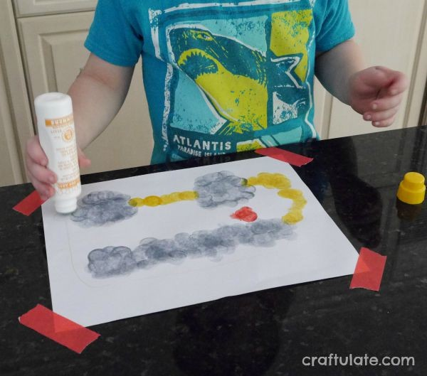 Fine Motor School Bus Activity
