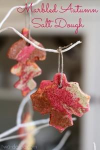 Autumn Salt Dough