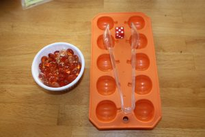 Fine Motor Pumpkin Counting Game