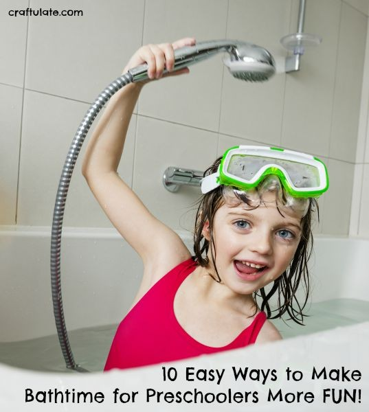 10 Easy Ways to Make Bathtime for Preschoolers More Fun