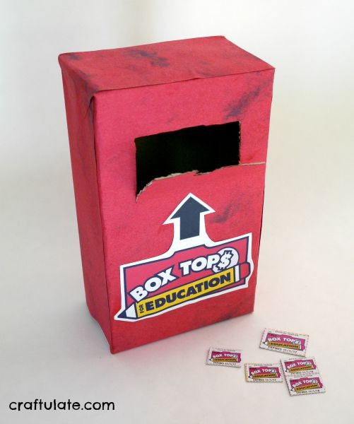 Box Tops Mailbox For The Home