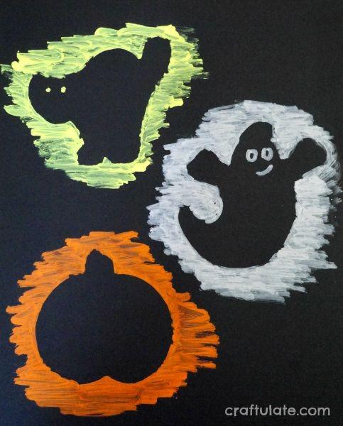 Halloween Chalk Marker Art