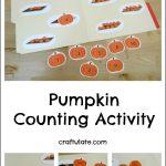 Pumpkin Counting Activity