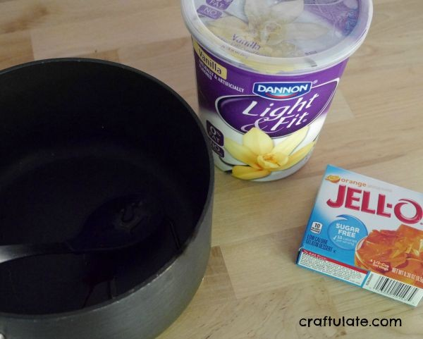 Pumpkin Jello Snacks