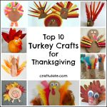 Top 10 Turkey Crafts for Thanksgiving