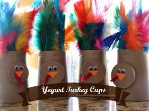 yogurt turkey cups