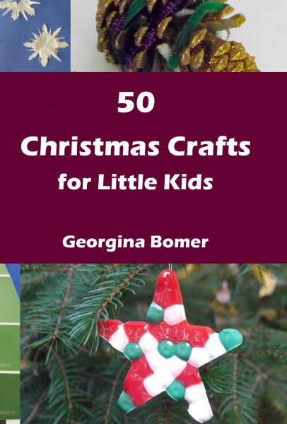 50 Christmas Crafts for Little Kids - the book