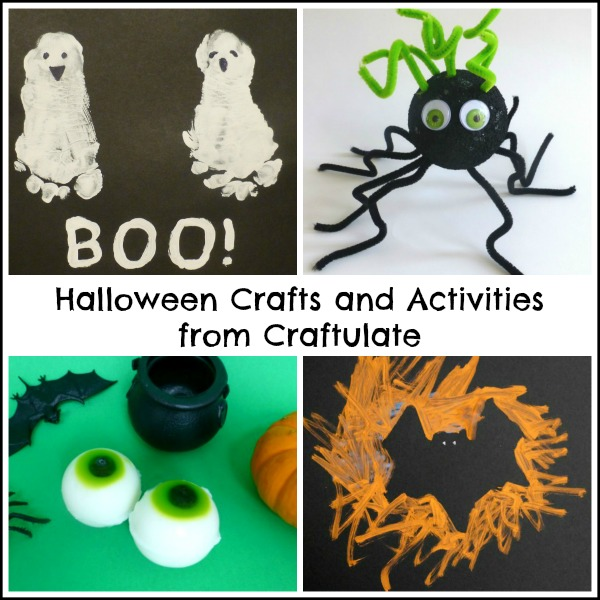 Halloween Crafts and Activities from Craftulate