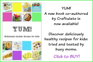 YUM - Healthy Recipes for Kids Book