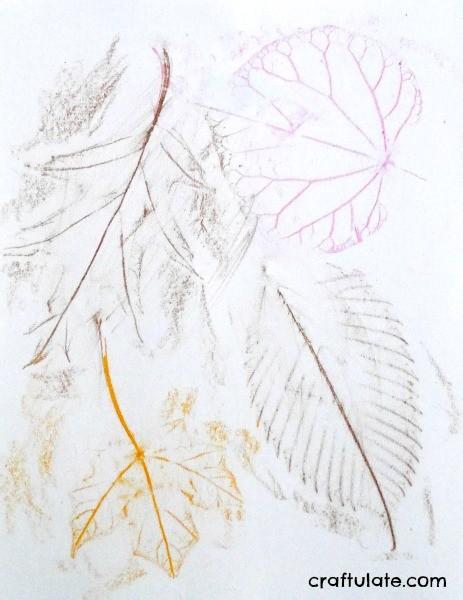 Easy Leaf Art for Kids