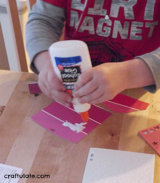 Paint Chip Monsters - a fun and easy craft for kids!