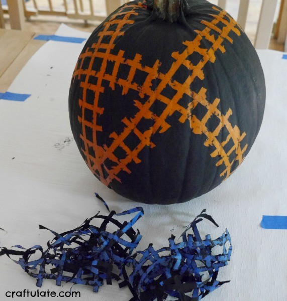 Train Track Pumpkin
