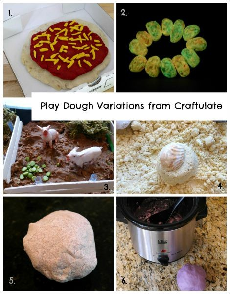 Play Dough Variations