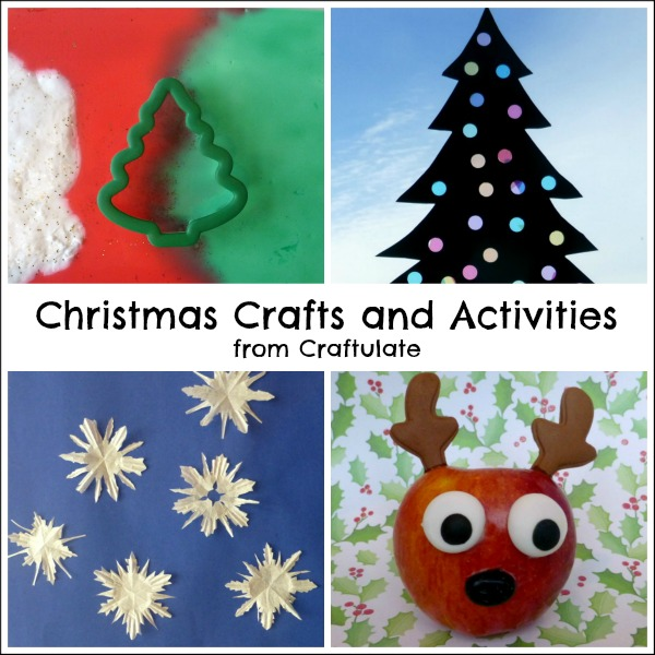 Christmas Crafts and Activities from Craftulate