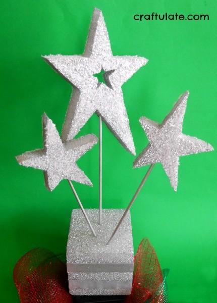 Christmas Stars Centrepiece