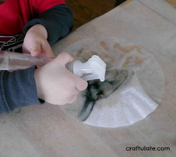 Coffee Filter Paper Art