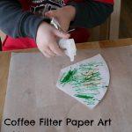 Coffee Filter Paper Art