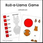Roll-a-Llama Game