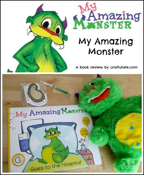 My Amazing Monster - a book that will help kids conquer their fears