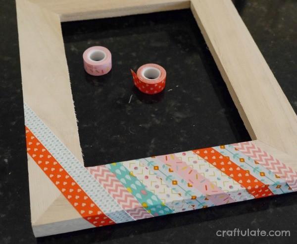 Washi Tape Frames